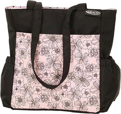 Amazon.com: Moderno – Bolso cambiador, color negro y rosa: Baby