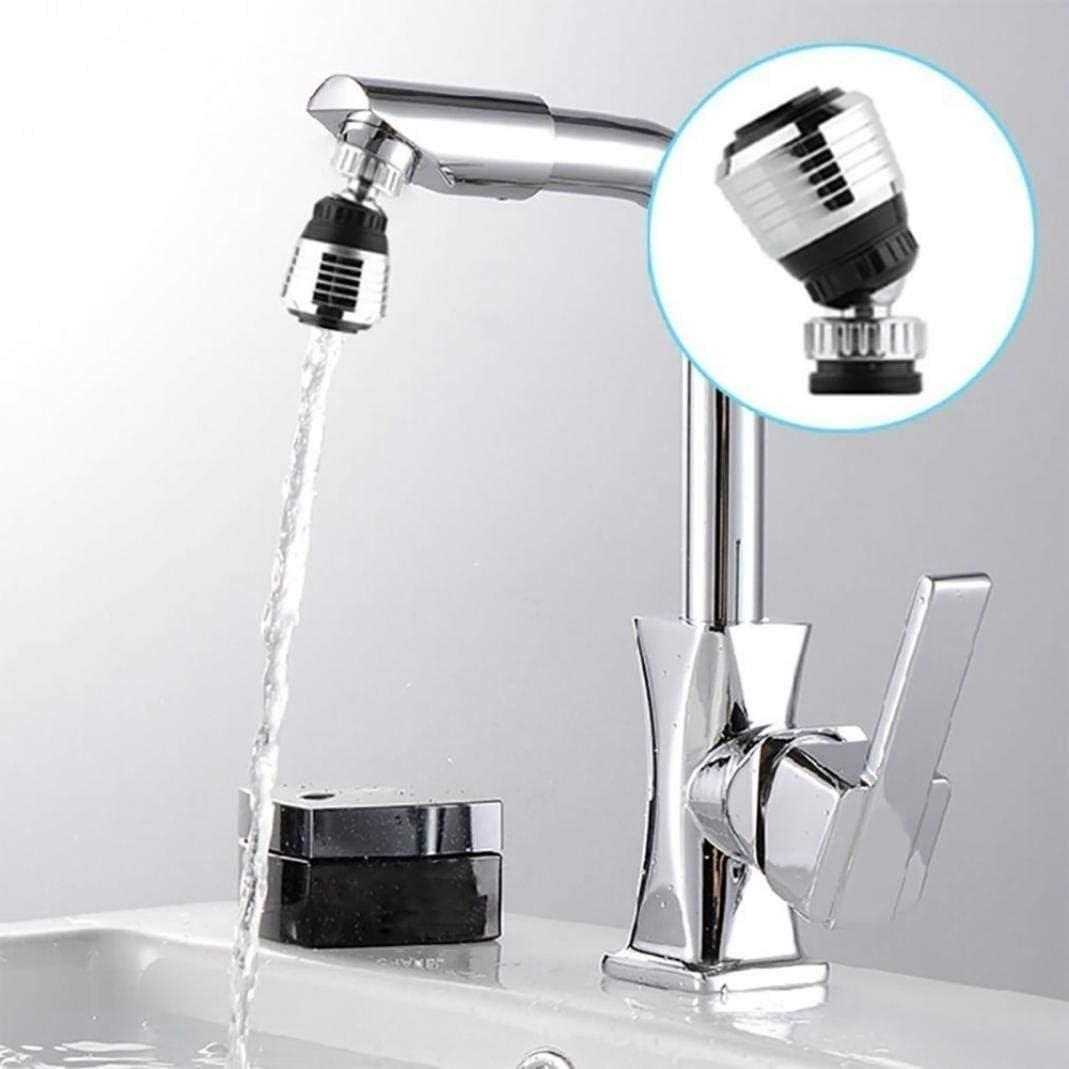 a/érateur de robinet Robinet de cuisine t/ête pivotante /à 360 degr/és robinet anti-/éclaboussures mousseur de robinet diffuseur de buse