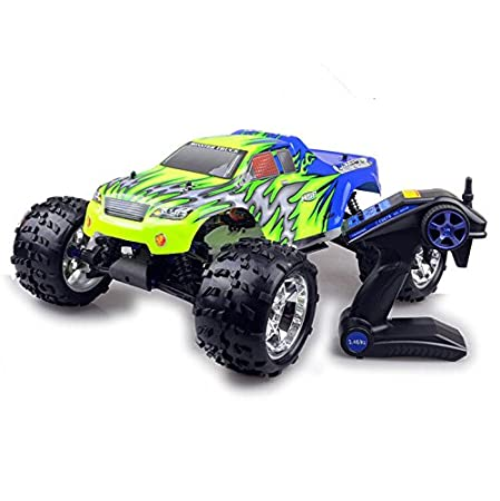 Amazon.com : 1/8 Carro De Controle Remoto A Gasolina Remote Control Cars Radio Control Remote Control Gasoline Car RC Cars HW1033 : Baby