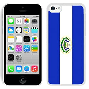 El Salvador Flag White Fantastic Recommended Customized iPhone 5C Phone Case