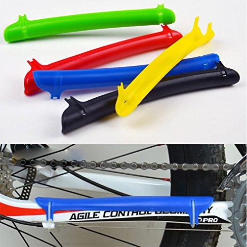 Protection Aléatoire blue Chaîne Montagne Route Vélo F En Plastique Vélos Vtt Shield couleur 07wnd4