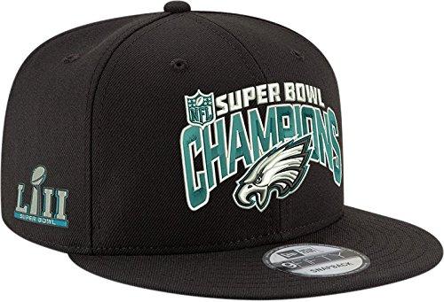 Super Bowl Champions Cap (New Era 9Fifty Philadelphia Eagles Super Bowl LII Champions Adjustable Hat OSFA)