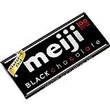 Meiji Black Chocolate Bar Mild Bitter Japan Snack Dagashi