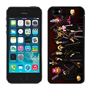 Customized and Fashionable One Piece 50 Black iPhone 5c Case