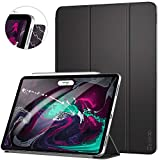 Ztotop Case for iPad Pro 11 Inch 2018,Strong Magnetic Ultra Slim Minimalist Smart Case with Auto Sleep/Wake,Trifold Stand Cover for iPad Pro 11 Inch 2018,Black