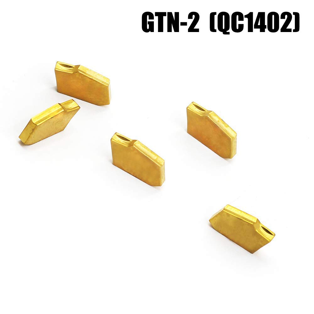 10pcs SP200 NC3020 GTN-2 Grooving Cut-Off Carbide Inserts 2mm Width