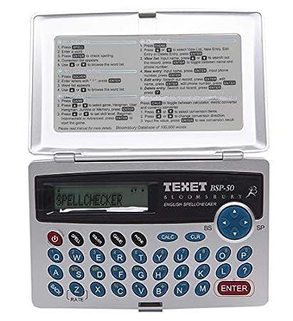 Texet Bloomsbury Corrector Ortográfico y Agenda telefónica ...