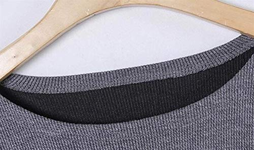 Cómodo Punto Elegantes Cuello Pullover Mangas Tejer De Top Murciélago Invierno Arriba Sweater Grande Otoño Azul Redondo Informales Moda Mujeres Casuales Mujer Splice Talla Battercake 8vd5q8