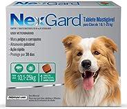 NexGard Antipulgas e Carrapatos para Cães de 10,1 a 25kg, 1 tablete