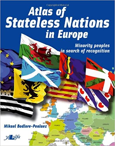 Amazon Com Atlas Of Stateless Nations In Europe 9781847713797 Mikael Bodlore Penlaez Books