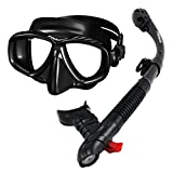 285890-AB, Snorkeling Purge Mask and Dry Snorkel Combo set