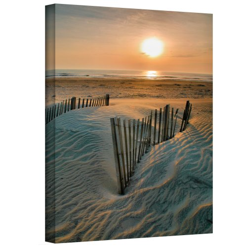 ArtWall 'Sunrise Over Hatteras' Gallery Wrapped Canvas Artwork by Steve Ainsworth, 32 by 24-Inch