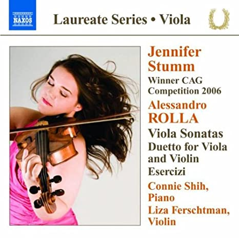 Buy Rolla: Sonatas For Viola And Piano Online at Low Prices in India