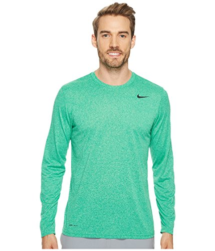 Nike Mens Legend 2.0 Long Sleeve Dri-Fit Training Shirt - 718837-371 (Neptune Green Size X-Large) by NIKE