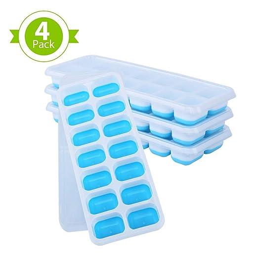 Bandeja para cubitos de hielo, con certificado LFGB, sin BPA ...
