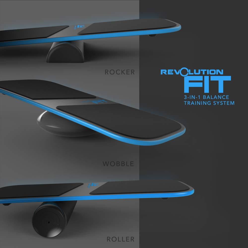 Revolution Balance Boards Fit 3-In-1 Balance Board Training System