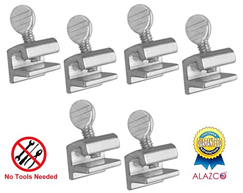 ome Security Sliding Window Lock - Tamper Resistant Extruded Aluminum - Thumbscrew No Tool Needed (Tamper Resistant Window)