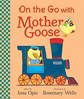 Book Cover: On the Go with Mother Goose