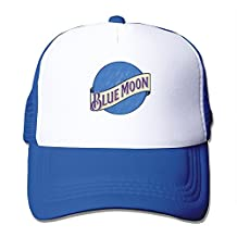 Cool Blue Moon Trucker Mesh Baseball Cap Hat
