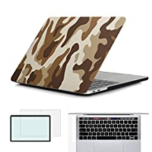 RYGOU MacBook Pro 13 Case 2016,Matte finish Plastic Hard Cover for 13 inch MacBook Pro Retina Without Touch Bar Model: A1708 ONLY (Released in Oct 2016)