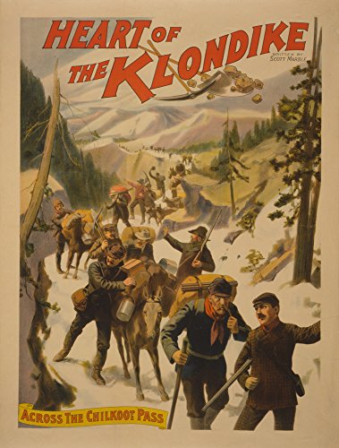 heart-of-the-klondike-across-chilkoot-pass-poster-24x36-collectible-giclee-gallery-print-wall-decor-
