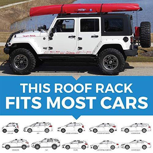 HandiRack - Universal Inflatable roof rack bars  - Rooftop c