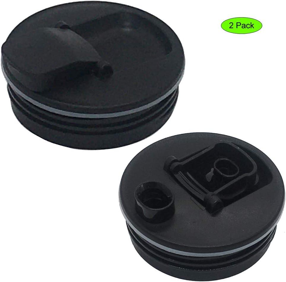 joystar 2pcs replacement parts spout lid for nutri ninja 16oz cup BL660 BL740, BL770 BL771 BL772 BL780 BL810 BL820 BL830,BL203QBK/BL208QBKBL206QBK/BL209/BL201C/BL201/QB3000/QB3000SSW/QB3004/QB3005 (2)