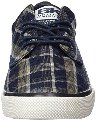 Sneakers beige 01 blu Juno Marino British Knights Uomo Basse Da Blu rzwZr