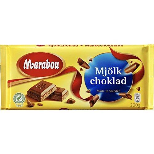 Marabou Mjolkchoklad - Milk Chocolate 200g - Pack of - Shop Lakeland
