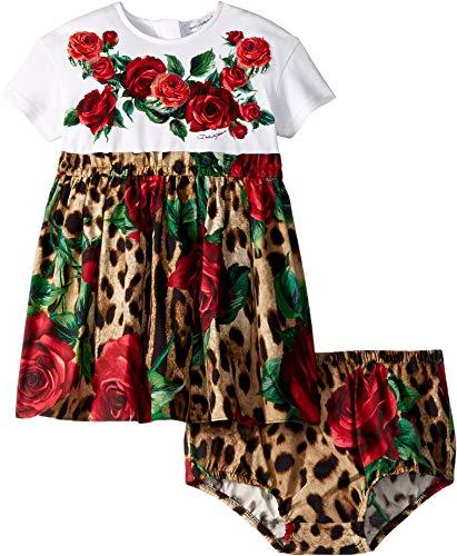 Dolce & Gabbana Kids Baby Girl's D&G Dress (Infant) Pink Multi 12-18 Months
