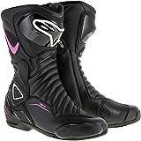 Alpinestars Women's Stella SMX-6 v2 Vented Black/Pink Boots, Euro 39