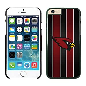 Arizona Cardinals Case For iPhone 6 Black 4.7 inches