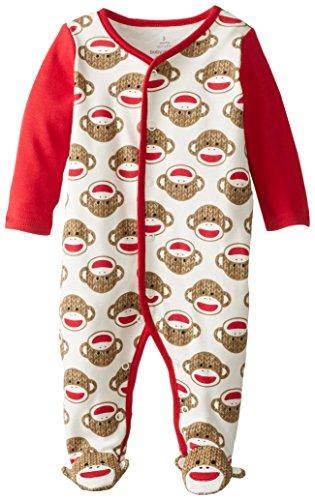 Sock Monkey Baby Clothing - Babystarters Baby Boys Newborn Sock Monkey