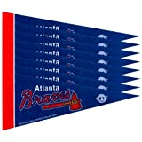 Atlanta Braves 8 Piece Mini Pennant Set
