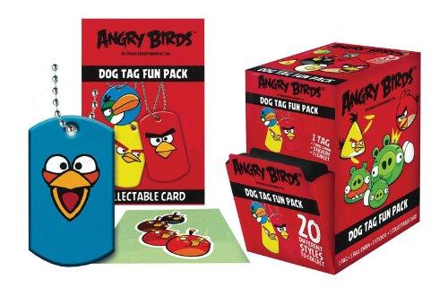 Angry Birds Dog Tags - Angry Birds Dog Tags Box of 24 Packs