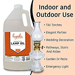 Hyoola Candles 1-Gallon Liquid Paraffin Lamp Oil -