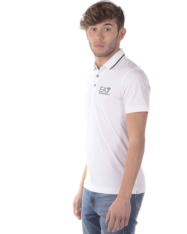 ea7 Polo Hombre (Blanco, m): Amazon.es: Ropa y accesorios