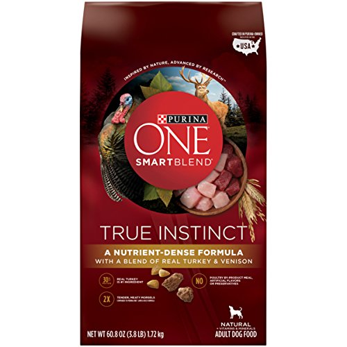 Purina-ONE-SmartBlend-True-Instinct-Turkey-and-Venison-Formula-Dry-Dog-Food