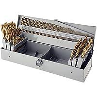 Steelex Plus D1138 115 Piece HSS Tin Drill Bit Set in Index by STEELEX PLUS