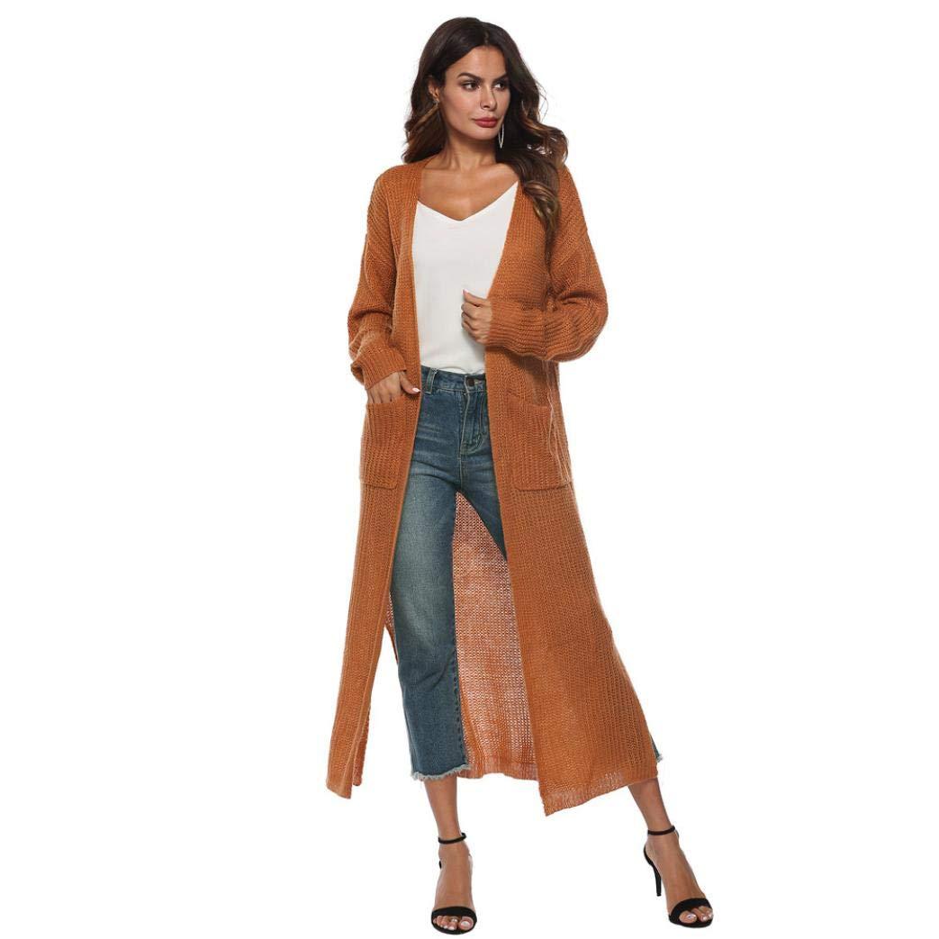 Womens Coat,Gillberry Autumn Long Sleeve Open Cape Casual Blouse Kimono Jacket Cardigan