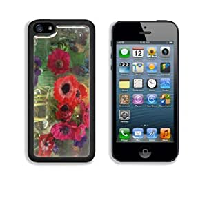Anemone Coronarias Flowers in Vase Apple iPhone 5C Snap Cover Case Customized Made to Order Support Ready Premium Aluminium Deluxe Aluminium 5 inch (125mm) x 2 3/8 inch (62mm) x 3/8 inch (12mm) Liil iPhone 5C Professional Cases Touch Accessories Graphic Covers Designed Model Folio Sleeve HD Template Designed Wallpaper Photo Jacket Wifi 16gb 32gb 64gb Luxury Protector Wireless Cellphone Cell Phone Kimberly Kurzendoerfer