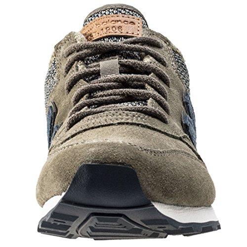 New Balance WH996LCB, Zapatillas Mujer verde oliva