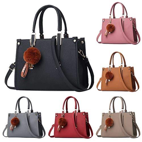 Bag In Cachi Hairball Borsa Women Con A Ornaments Tinta Paillettes Tracolla Zariavo Ladies Unita Mano AnPrq6pAZ
