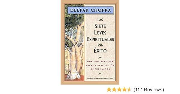 Amazon Las Siete Leyes Espirituales Del Xito Una Gua