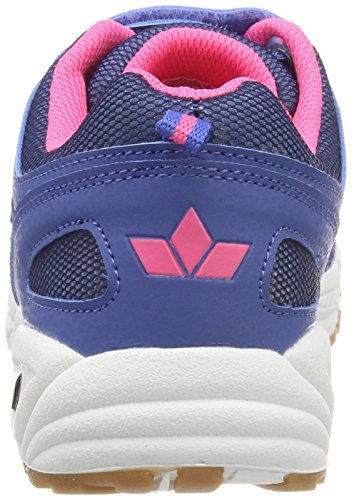 GEKA Charly Vs, Zapatillas de Deporte Interior Para Mujer Azul (Blau/pink Blau/pink)