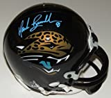 Mark Brunell Signed - Autographed Jacksonville Jaguars Mini Helmet - Teal Autograph - Guaranteed to pass PSA or JSA