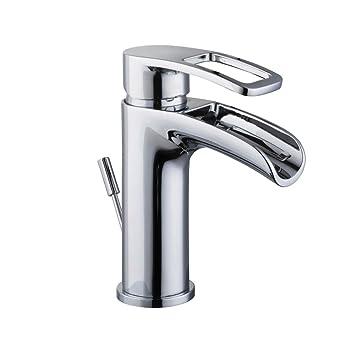 Glacier Bay Kiso Single Hole 1 Handle Low Arc Bathroom Faucet In