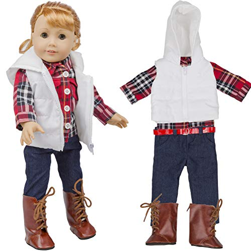 Dress Along Dolly Fall Outfit for American Girl & 18