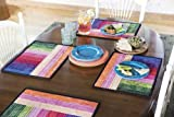 Double Dip Reversible Place Mats Pattern offers