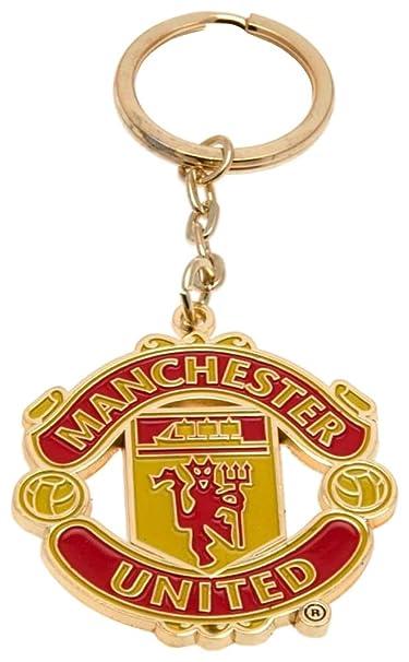 Amazon.com: Club oficial de Manchester United llavero, talla ...